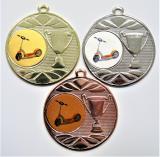 Koloběžka medaile DI5003-L216