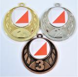 Orientační běh medaile D43-L112
