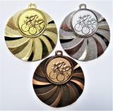 Cyklisti medaile D84-A16