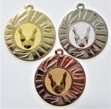 Kuželky medaile DI4501-42