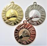 Badminton medaile DI4501-A42