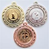 Medaile s pořadím D109-105-7