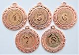 Medaile s pořadím D109-169-73
