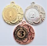 Medaile s pořadím DI4002-105-7
