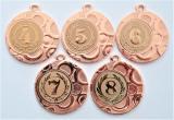Medaile s pořadím DI4002-169-73