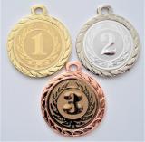 Medaile s pořadím DI3206-105-7