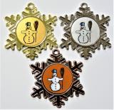 Sněhulák medaile D47-L117