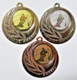 Snowboard medaile D110-158