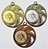 Běžky medaile DI4503-A46