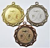 Triatlon medaile DI7003-74