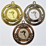 Plavání žena medaile D79A-14