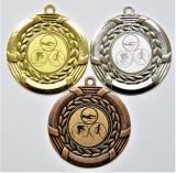 Triatlon medaile D28J-74