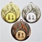 Šachy medaile D49-83