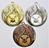 Curling medaile D49-128