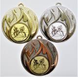 Florbal medaile D49-165