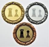 Šachy medaile D8D-83