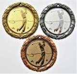 Golf medaile D8D-109