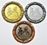 Florbal medaile D8D-165