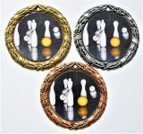 Kuželky medaile D8D-L215