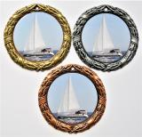 Jachting medaile D8D-L230