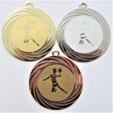 Házená žena medaile DI7001-8