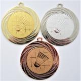 Badminton medaile DI7001-34
