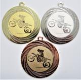 Motokros medaile DI7001-75