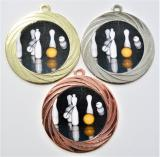 Kuželky medaile DI7001-L215