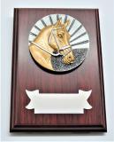 Kůň plaketa H122-G15-FG009