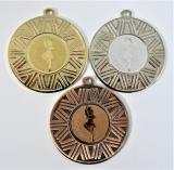 Mažoretky medaile DI5007-45