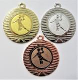 Házená žena medaile DI4001-8