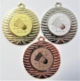 Badminton medaile DI4001-34