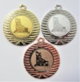 Kolečkové brusle medaile DI4001-149