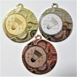 Badminton medaile DI4002-34