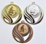 Rybář břeh medaile DI5006-59