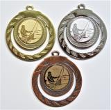 Rybář loďka medaile ME.098-60