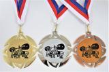 Benchpress medaile KOMPLET ME.099-L7