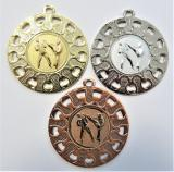 Karate medaile ME.097-A14