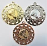 Badminton medaile ME.097-A42
