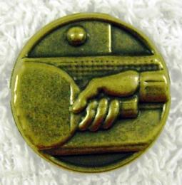 Ping pong MINI emblém A 41 č.13-zlato - zvětšit obrázek