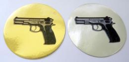 Pistole CZ 75 MINI loga - zvětšit obrázek