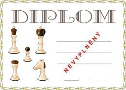 Šachy diplom A4 č.5 - zvětšit obrázek
