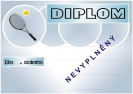 Tenis diplom A4 č.62 - zvětšit obrázek