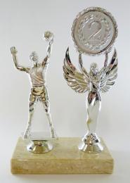 Volejbal trofej-MUŽ-stříbro F21-654-2 - zvětšit obrázek