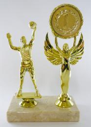 Volejbal trofej-MUŽ-zlato F21-654-1 - zvětšit obrázek