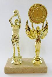 Basket trofej - MUŽ - zlato F01-654-1 - zvětšit obrázek