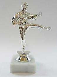 Karate figurka - MUŽ - stříbro F10-800S - zvětšit obrázek