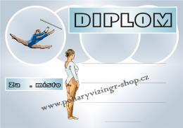 Gymnastika diplom A4 č.1 - zvětšit obrázek