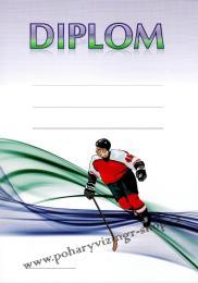 Hokej diplom A4 č.26 - zvětšit obrázek