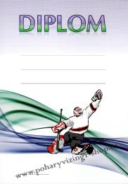 Hokej diplom A4 č.27 - zvětšit obrázek